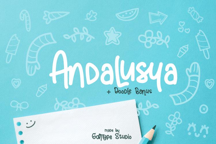Andalusya шрифт скачать бесплатно