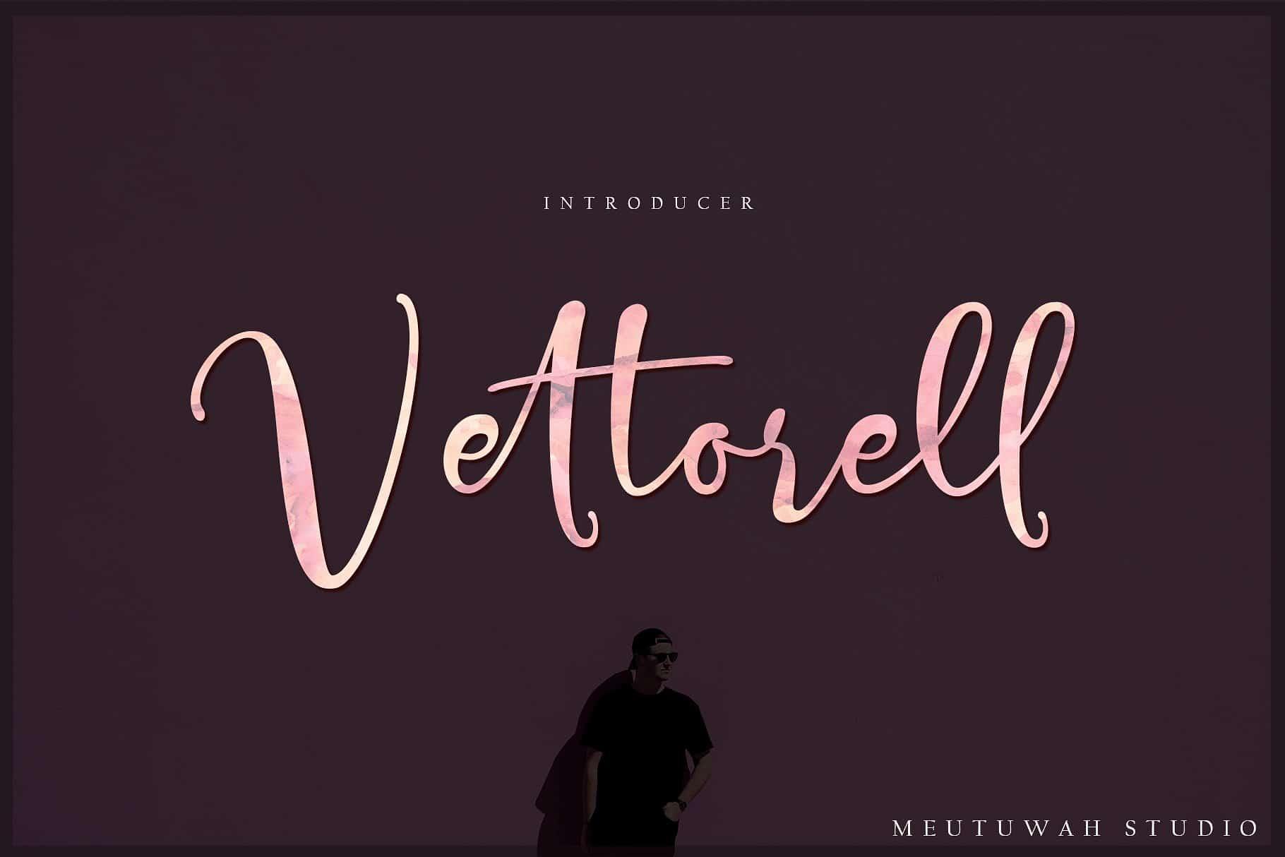 Vettorell шрифт скачать бесплатно