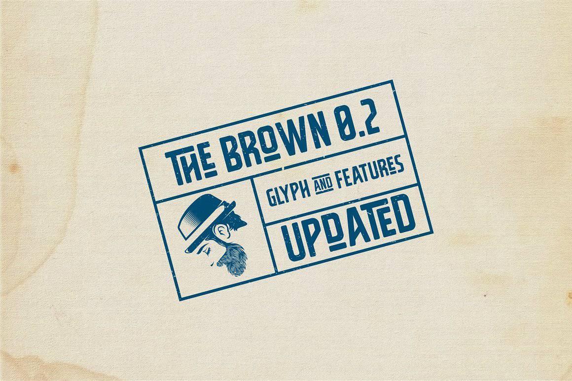 The Brown шрифт скачать бесплатно