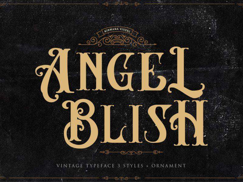 Angel Blish шрифт скачать бесплатно