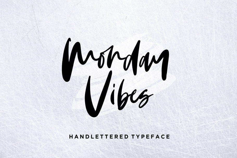 Monday Vibes шрифт скачать бесплатно