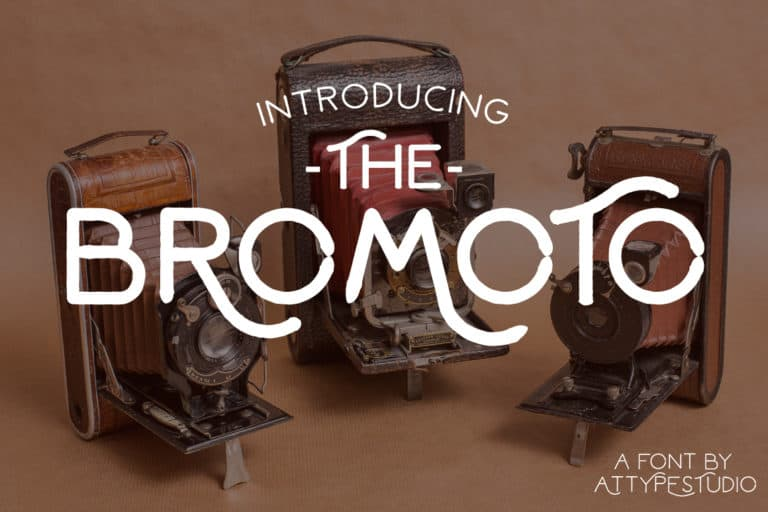 Bromoto шрифт скачать бесплатно