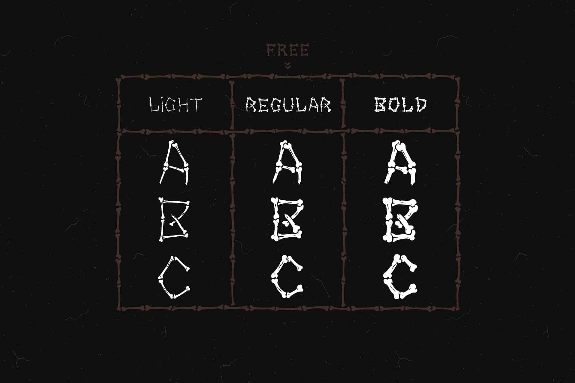 Bony Regular шрифт скачать бесплатно