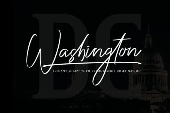 Washington шрифт скачать бесплатно