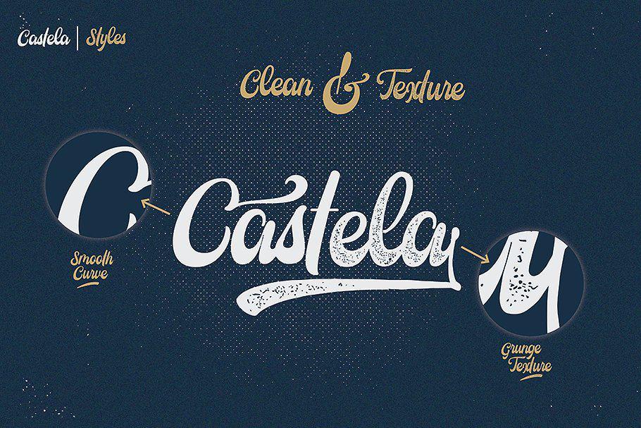 Castela шрифт скачать бесплатно
