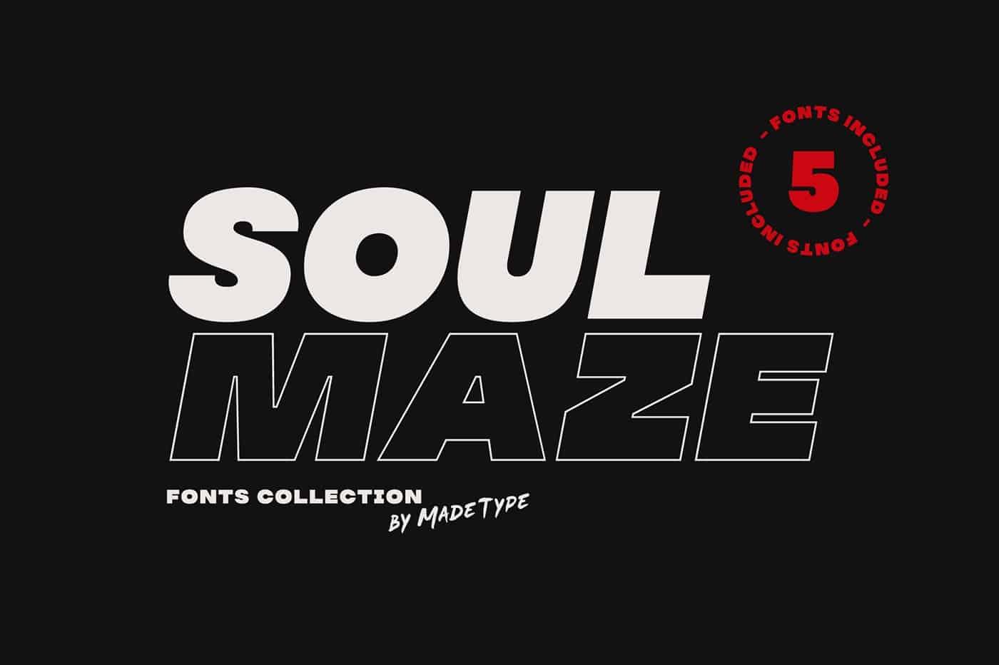 MADE Soulmaze шрифт скачать бесплатно