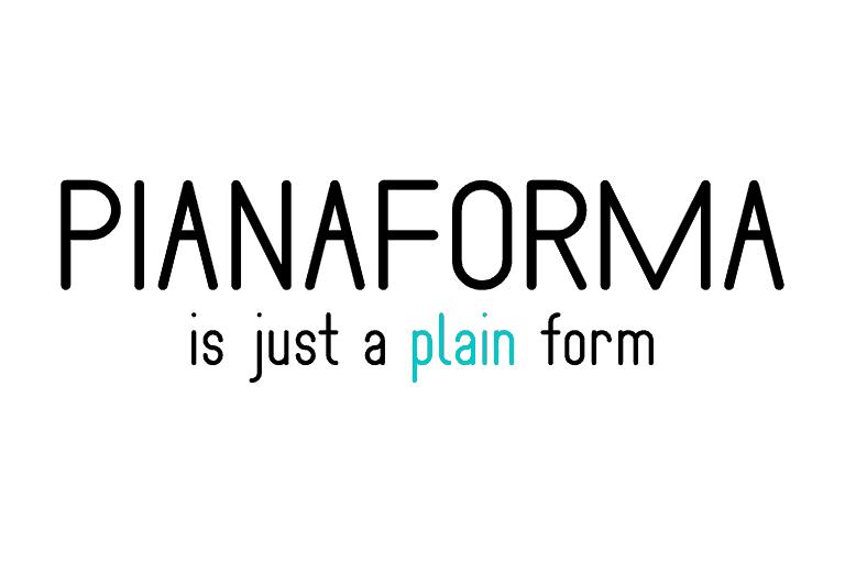 Pianaforma шрифт скачать бесплатно