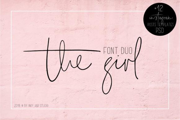 The Girl шрифт скачать бесплатно