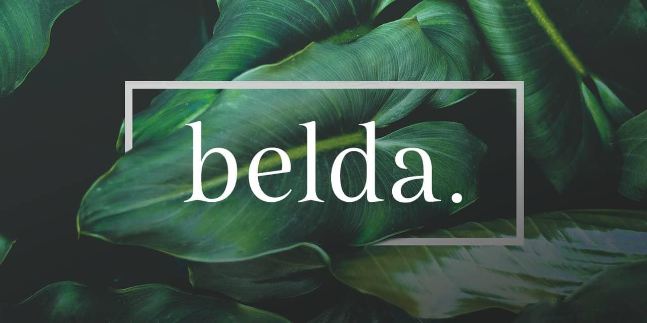 Belda   шрифт скачать бесплатно