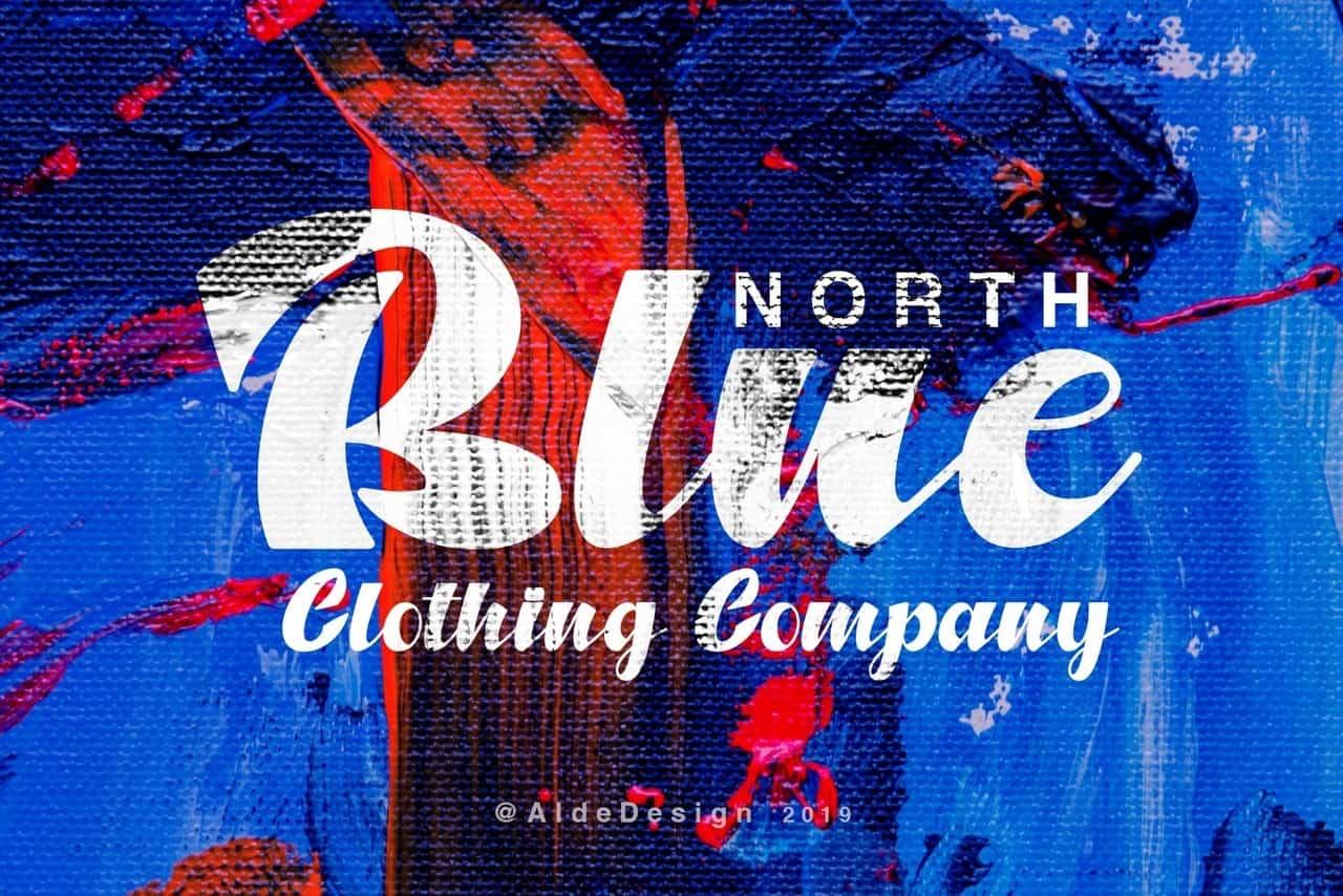 North blue шрифт скачать бесплатно