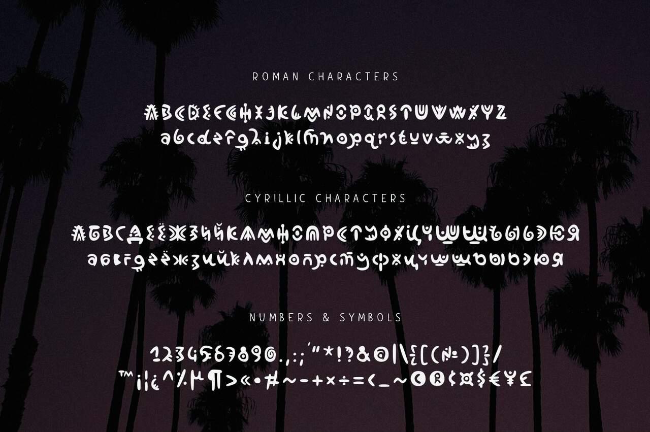 jelani шрифт скачать бесплатно