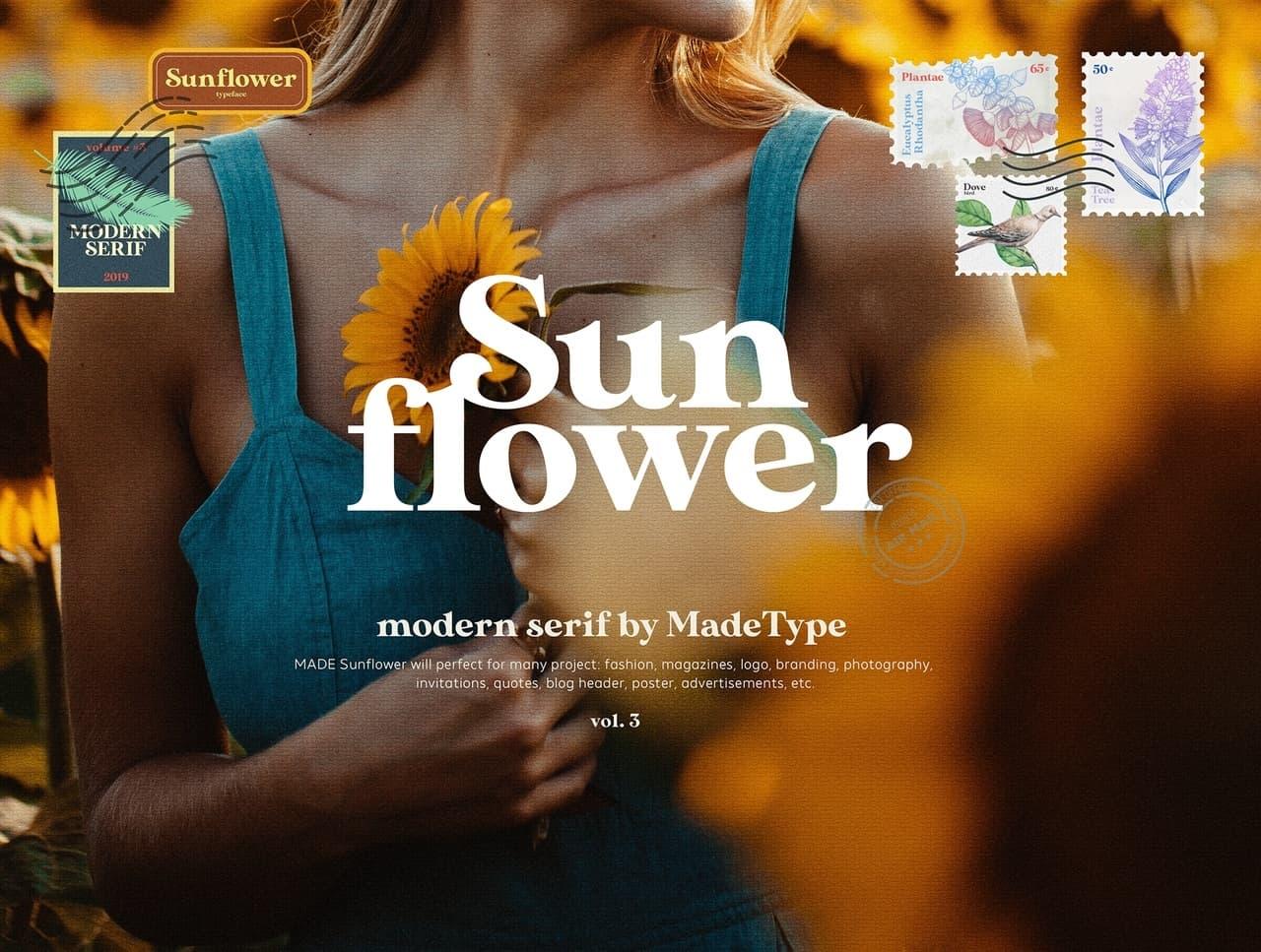 Sunflower шрифт скачать бесплатно