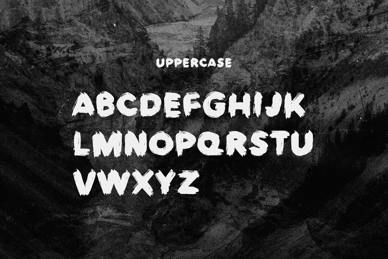 Europa Brush шрифт скачать бесплатно
