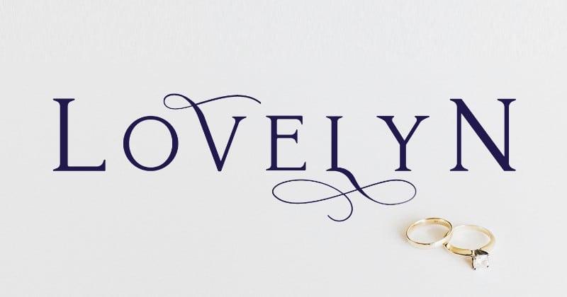 Lovelyn шрифт скачать бесплатно