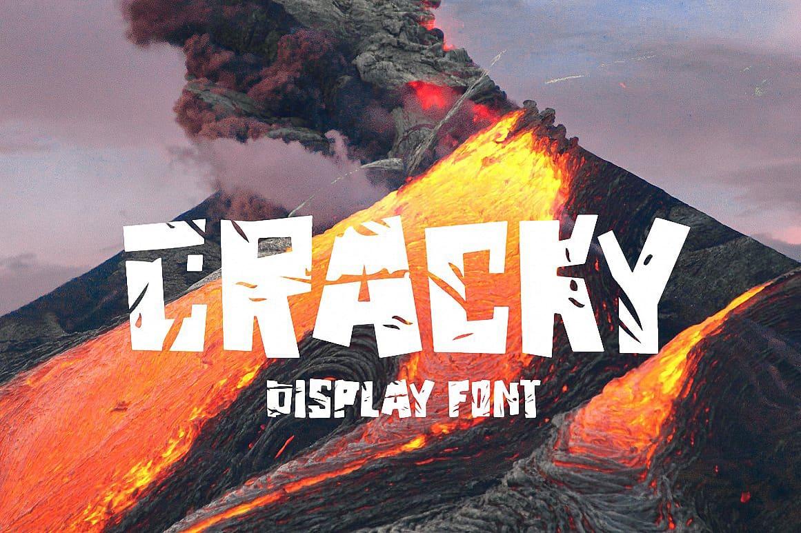Cracky Display шрифт скачать бесплатно