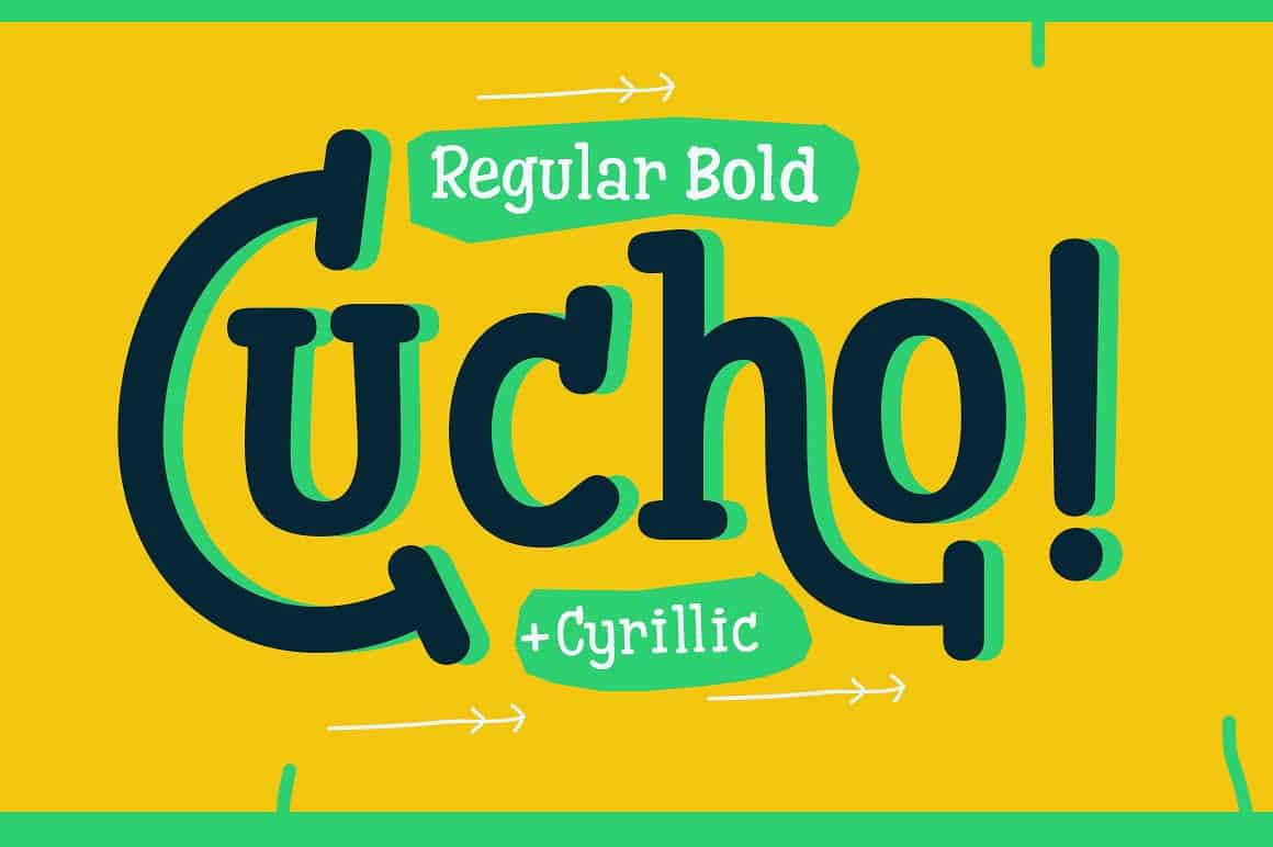 Cucho Family шрифт скачать бесплатно