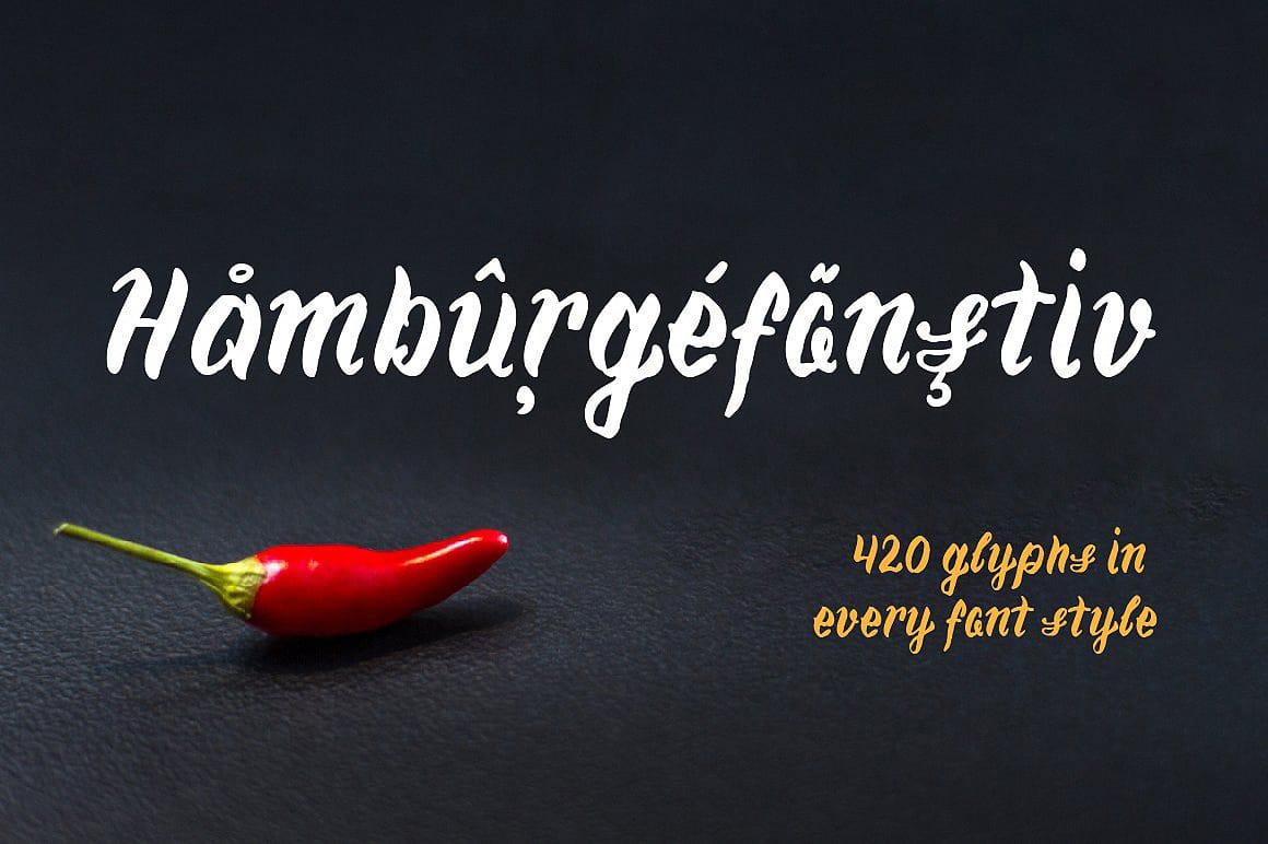 Chili шрифт скачать бесплатно