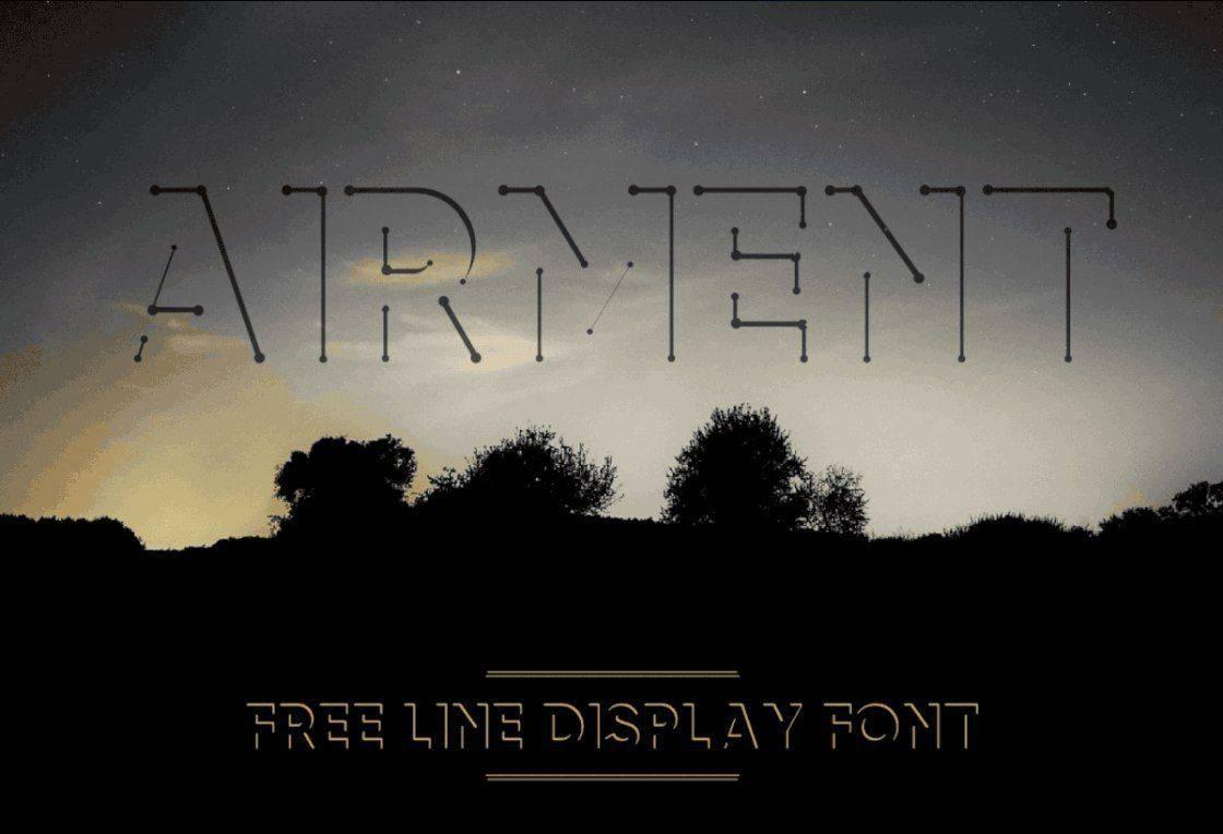 Airment шрифт скачать бесплатно