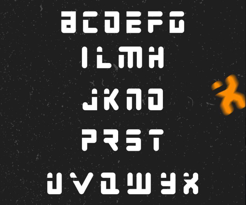 PAMU шрифт скачать бесплатно