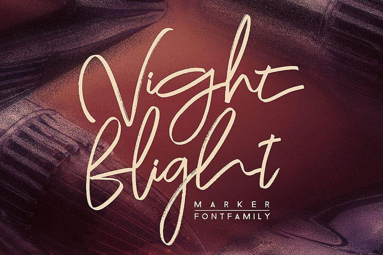 Night Flight шрифт скачать бесплатно