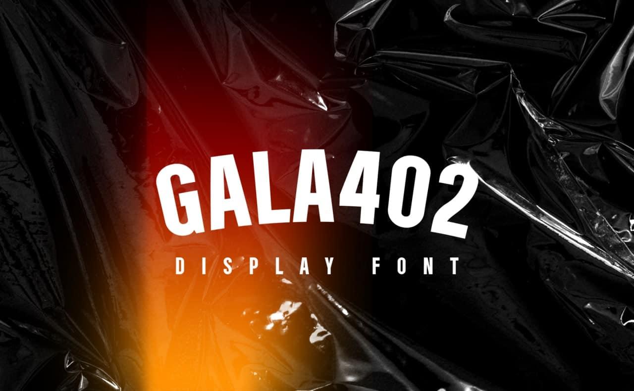 Gala402 шрифт скачать бесплатно