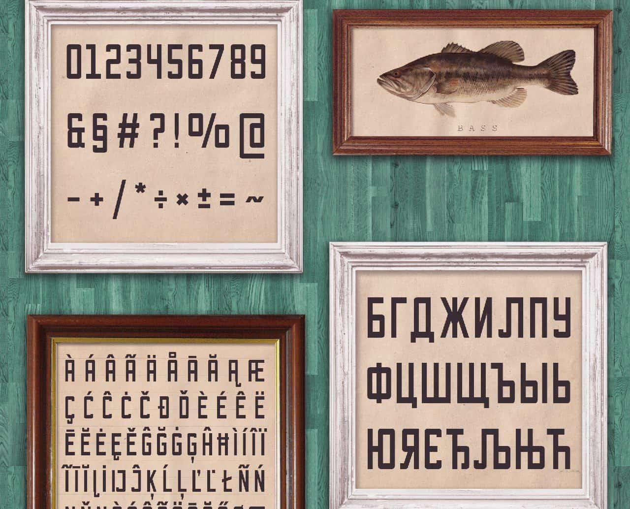 Bootshaus шрифт скачать бесплатно