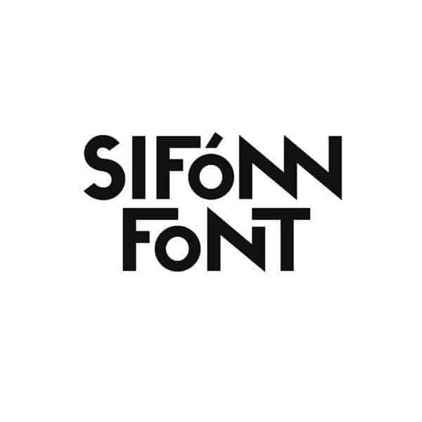 Sifonn шрифт скачать бесплатно