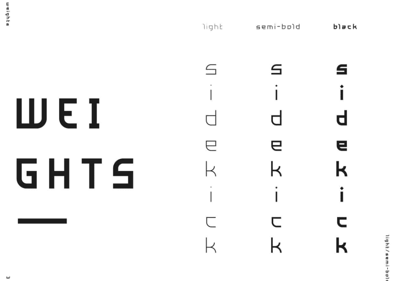 Side Kick шрифт скачать бесплатно