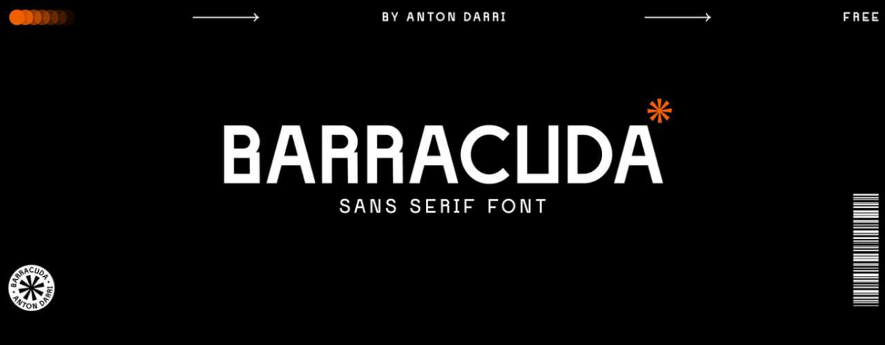Barracuda шрифт скачать бесплатно